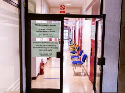 Prijem i ulaz u medicinu rada i sporta turjak u gundulićevoj ulici